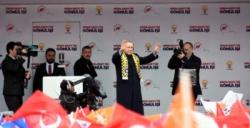Cumhurbaşkanı Erdoğan Mardin mitingine katıldı