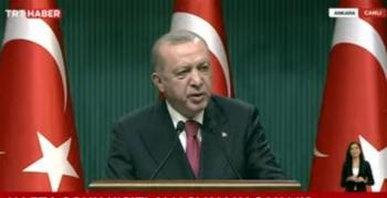 Cumhurbaşkanı Erdoğan normalleşme adımlarını açıkladı