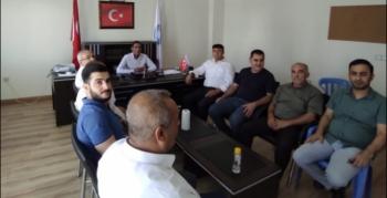 Deva Partisi Sulama Kanalları sorunları için Çağ Çağ Sulama Birliğini ziyaret etti