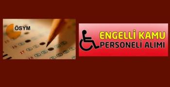 Engelliler için KPSS tercihleri başladı