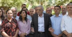 Görevden uzaklaştırılan Ahmet Türk Nusaybin'de konuştu