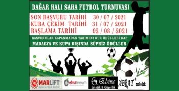 Halı saha futbol turnuvası başvuruları sürüyor