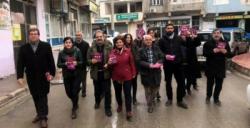 HDP Kongresi için Nusaybin'de davetiyeler dağıtıldı