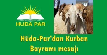 Hüda - Par Nusaybin ilçe teşkilatından bayram mesajı