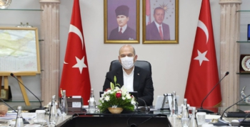 İçişleri Bakanı Soylu başkanlığında Mardin'de güvenlik toplantısı yapıldı