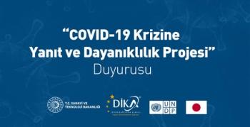Kovid-19 Krizine Yanıt ve Dayanıklılık Proje Duyurusu