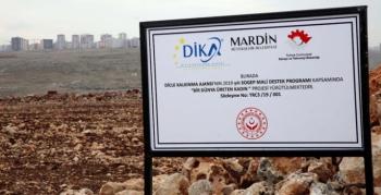 Lavanta Bahçeleri için arazi hazırlığı hizmeti alınacaktır