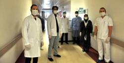 Mardin'de COVİD-19 PCR Tanı Laboratuvarı hizmet vermeye başladı