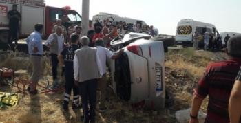 Midyat - Nusaybin Karayolunda kaza, 1 kişi hayatını kaybetti