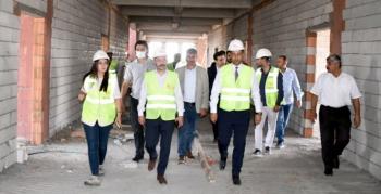 Neriman ve Celal Özel Nusaybin Meslek Yüksekokulu inşaatında hızlı ilerleme