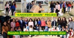 Nusaybin Anadolu Lisesinden 'Kardeşim Sensin' projesi