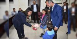 Nusaybin Belediyesinde Nergiz ve Kut tebrikleri kabul ediyor