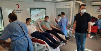 Nusaybin Cumhuriyet Savcılarından kan bağışına destek