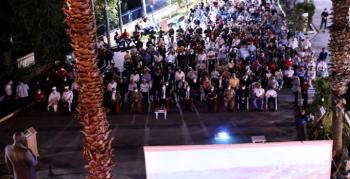 Nusaybin'de 15 Temmuz anma ve demokrasi nöbeti programı düzenlendi