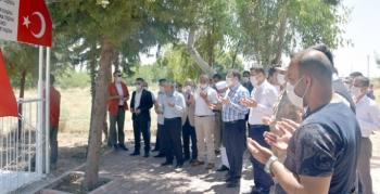 Nusaybin'de 15 Temmuz programları Mevlid ve Şehitlik ziyaretiyle başladı