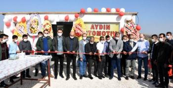 Nusaybin'de Aydın Otomotiv açıldı