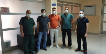 Nusaybin'de Biontech Kovid-19 Aşısı başladı