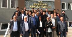Nusaybin'de HDP'liler İlçe Seçim Kurulu'ndan mazbatalarını istedi