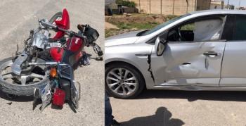 Nusaybin'de iki ayrı trafik kazası