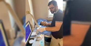 Nusaybin'de ilk defa yüz felci teşhis amaçlı EMG yapıldı