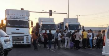 Nusaybin'de kamyon ile motosiklet kazasında 1 kişi yaralandı