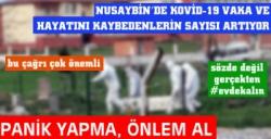 Nusaybin'de Kovid-19 vaka ve hayatını kaybedenlerin sayısı artıyor