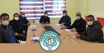 Nusaybin'de Meslek Lisesi Yöneticilerine Fikri Mülkiyet ve Sinai Haklar Eğitimi verildi