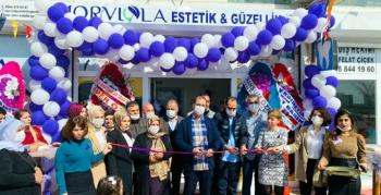 Nusaybin'de MORVLOLA Güzellik Salonu Açıldı