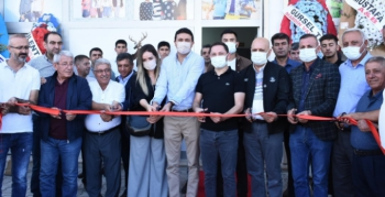 Nusaybin'de Öz Irmak Tekstil Fabrikasının açılışı yapıldı