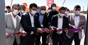Nusaybin'de Özgür Medikal Marketi açıldı