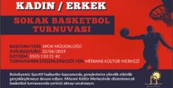 Nusaybin'de Sokak basketbolu düzenlenecek