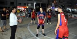 Nusaybin'de Sokak Basketbolu turnuvası başladı