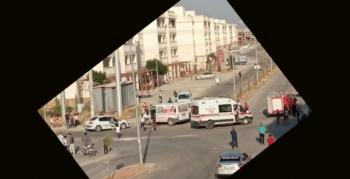 Nusaybin'de üç aracın karıştığı kazada 1 kişi yaralandı