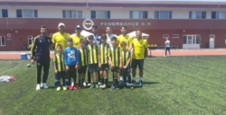 Nusaybin Fenerbahçe Futbol Okulu İstanbul kampına katıldı