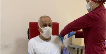 Nusaybin Hüda Par'dan Kovid-19 aşı kampanyasına destek