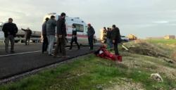 Nusaybin ipek yolunda trafik kazası, 1 yaralı