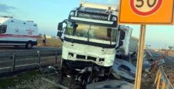 Nusaybin ipek yolunda trafik kazası, 2 yaralı
