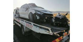 Nusaybin İpekyolu'nda trafik kazası, 2 yaralı