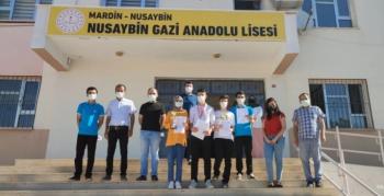 Nusaybin satranç ekibi Mardin'de büyük başarı elde etti