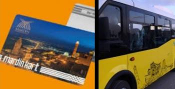 Nusaybin Şehiriçi ulaşımında kartlı sistem dönemi başlıyor