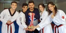 Nusaybin Spor tarihinde bir ilk, Taekwondoda 12 il şampiyonluğu aldık