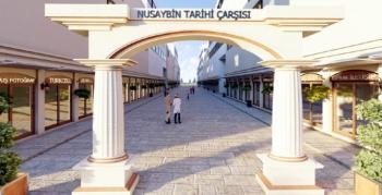 Nusaybin Tarihi Çarşısı Yapımı İlana çıktı