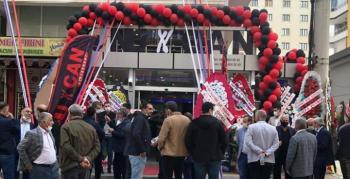 Nusaybinli İşletmecinin Artuklu'da kurduğu Nu Can Restaurantın açılışı yapıldı