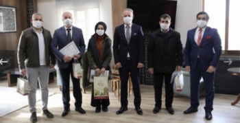 Türkiye ikincisi Nusaybinli öğrenciye ödül