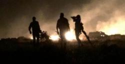 Ormanlık alandaki yangın kontrol altına alındı