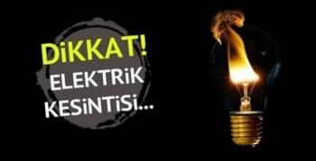 Pazar Günü Dicle ve Yenişehir'de Elektrik kesintisi olacak