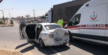 Stadyum Kavşağında trafik kazası