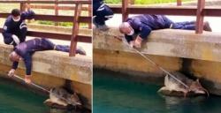 Sulama kanalına düşen kurt itfaiye ekipleri tarafından kurtarıldı