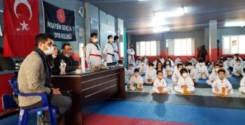 SZGN Taekwondo Okulunda Kuşak sınavı