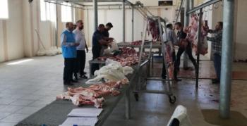 TDV Nusaybin'de bin aileye kurban eti dağıttı